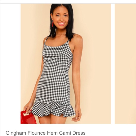 Dresses & Skirts - Gingham dress brand new